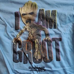 Women's Fitted Size M I Am Groot Tee